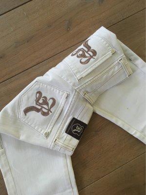 Rock & Republic Pantalone cinque tasche bianco-bronzo