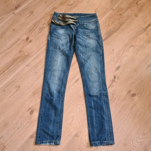Jeans von Salsa Gr. 32 XXS used look stretch Salsa life