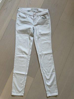 Siviglia Jeans da motociclista grigio chiaro
