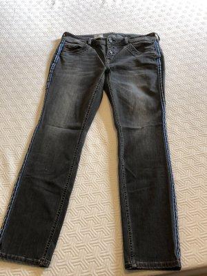Street One Boyfriend Jeans dark grey
