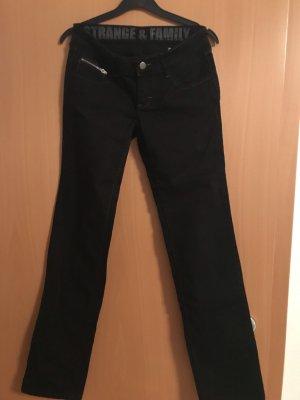 Strange Jeans stretch noir