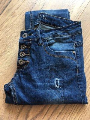 Sublevel Jeans stretch bleu-bleu foncé