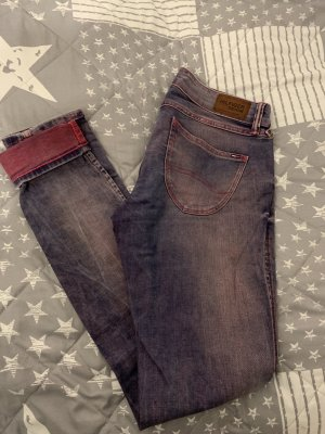 Tommy Hilfiger Stretch Jeans steel blue-pink