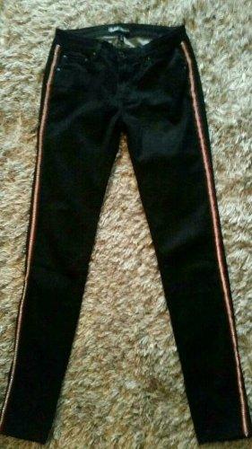 Toxik3 Tube Jeans black-red