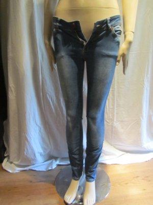 Twist & Tango Jeans skinny blu acciaio Cotone