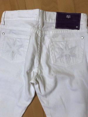 Jeans von Victoria Beckham ungetragen Gr 26/34 weiss Hose sexy