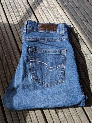 Jeans von wISSMACH Größe 42 Stretch blue jeans blau used Look