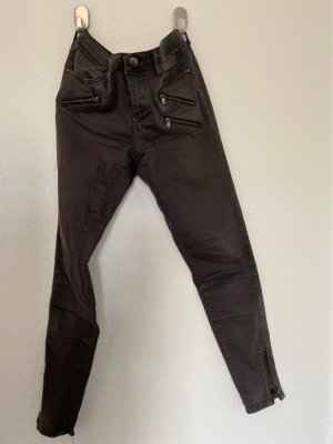 Zara Basic Low Rise Jeans anthracite
