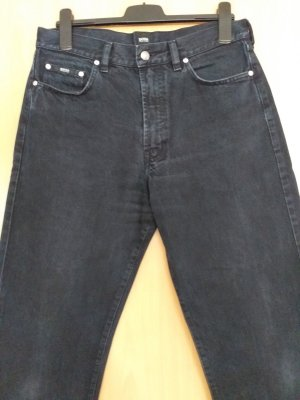 Hugo Boss Jeans svasati nero Cotone
