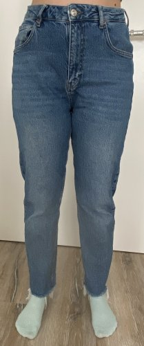 BGD Urban Outfitters Hoge taille jeans staalblauw