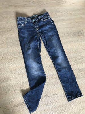 Soccx Jeans a sigaretta blu