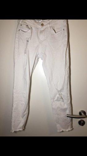 Jeans weiß 7/8  34
