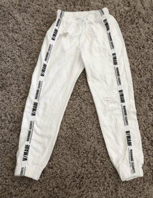 100% Fashion Jean mom blanc
