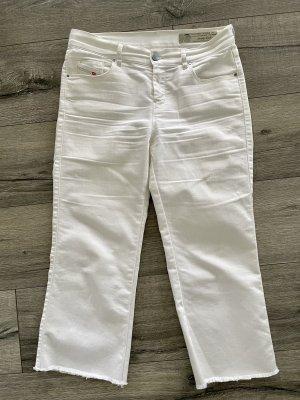 Diesel Jeansy 7/8 biały