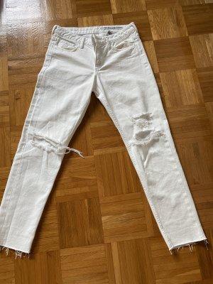 Jeans weiß Gr 26