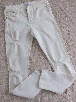 Jeans / weiß / Gr. 36 S