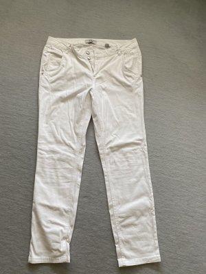 Jeans weiß Gr. 42 tchibo