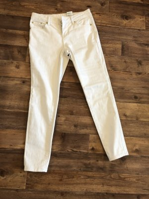 Bodyflirt Drainpipe Trousers white