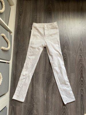 Jeans weiß neu Hose h&m skinny röhrenjeans