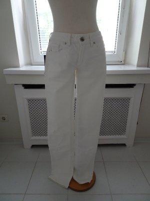 Jeans weiß von **Gianfranco Ferrè** Gr. 30 **Neu mit Etikett**