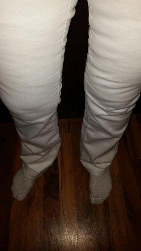 H&M Jeans coupe-droite blanc coton