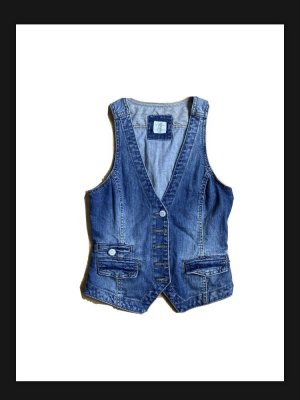 L.O.G.G Gilet en jean bleu