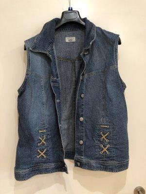 Jeans Weste blau, Kenny S., Gr. 42