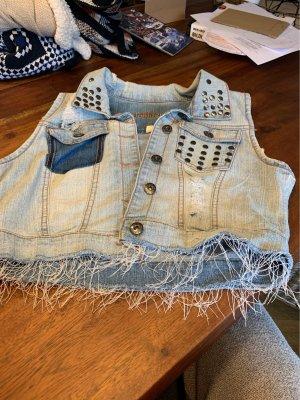 Dollhouse Smanicato jeans blu