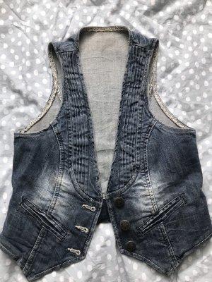Jeans Weste fauenfeder