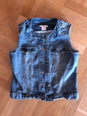 Jeans Weste Manguun Gr. 40 *top*