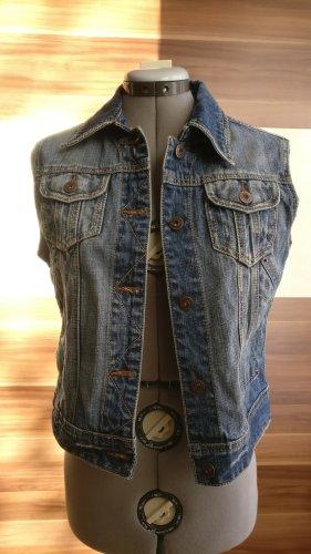 Orsay Smanicato jeans blu acciaio