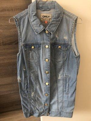 Only Smanicato jeans azzurro