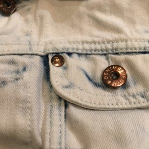 Jeans-Weste, Used Optik