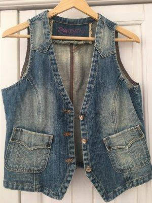 Raiden Smanicato jeans blu acciaio