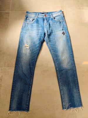 Jeans Zara Boyfriend 32 ripped