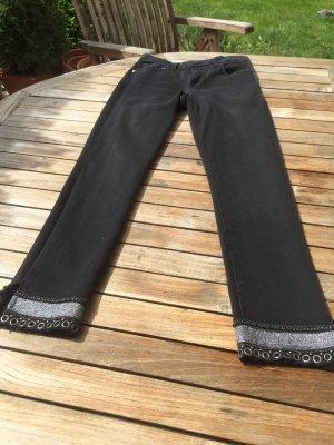 Jeans ZARA Denim schwarz Größe 36