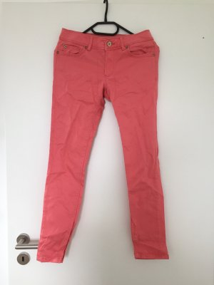 Jeans Zara korallfarben lachs