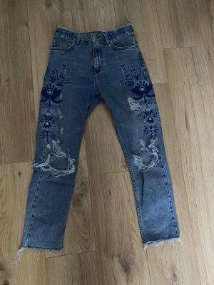 Jeans zerissen