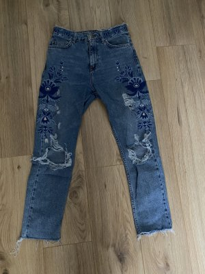 Topshop Moto Boyfriend Jeans multicolored
