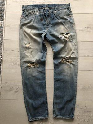 Jeans zerrissen Used look Ralph Lauren