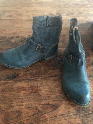 Jeansblaue Boots von Momino