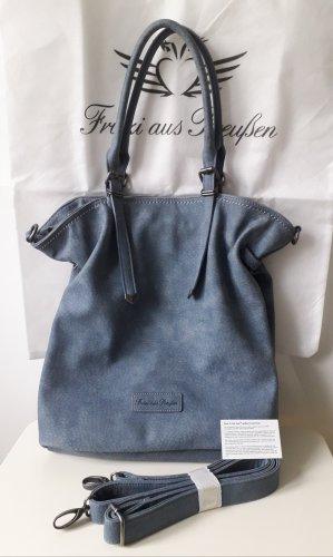 jeansblauer SHOPPER/SCHUTERTASCHE von Fritzi aus Preußen