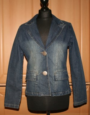 Jeansblazer blau von List Woman Gr. S