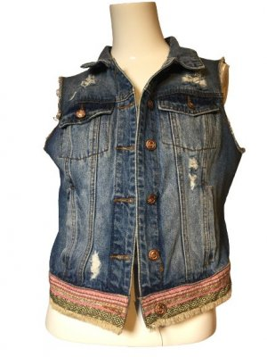 FB Sister Blazer in jeans multicolore