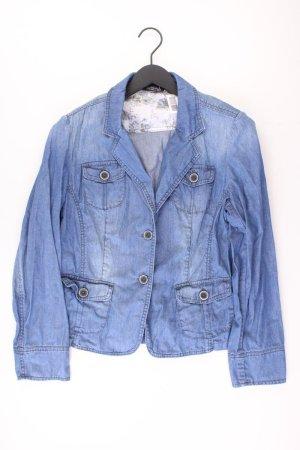 Blazer in jeans blu-blu neon-blu scuro-azzurro Cotone