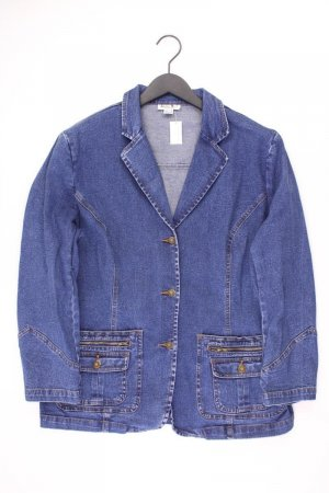 Denim Blazer blue-neon blue-dark blue-azure cotton