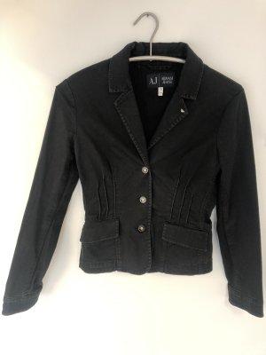 Armani Jeans Blazer in jeans nero