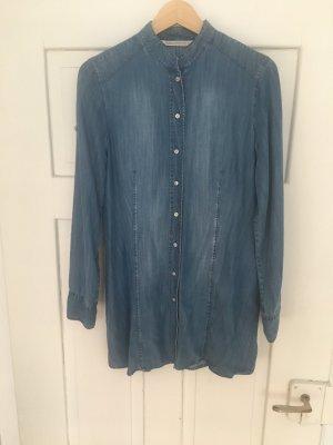 Max Volmáry Blusa-camisa azul aciano