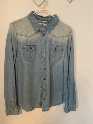 C&A Blouse en jean bleu azur