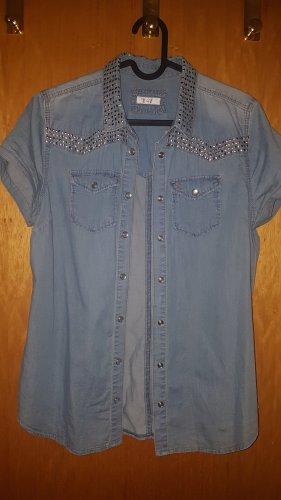 Basefield Jeans blouse veelkleurig